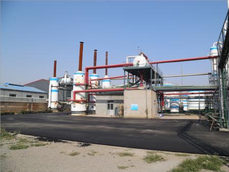乌洛托品设备生产过程中水处理过程