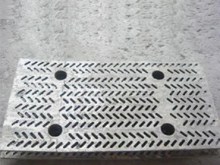 铸造人字孔筛板