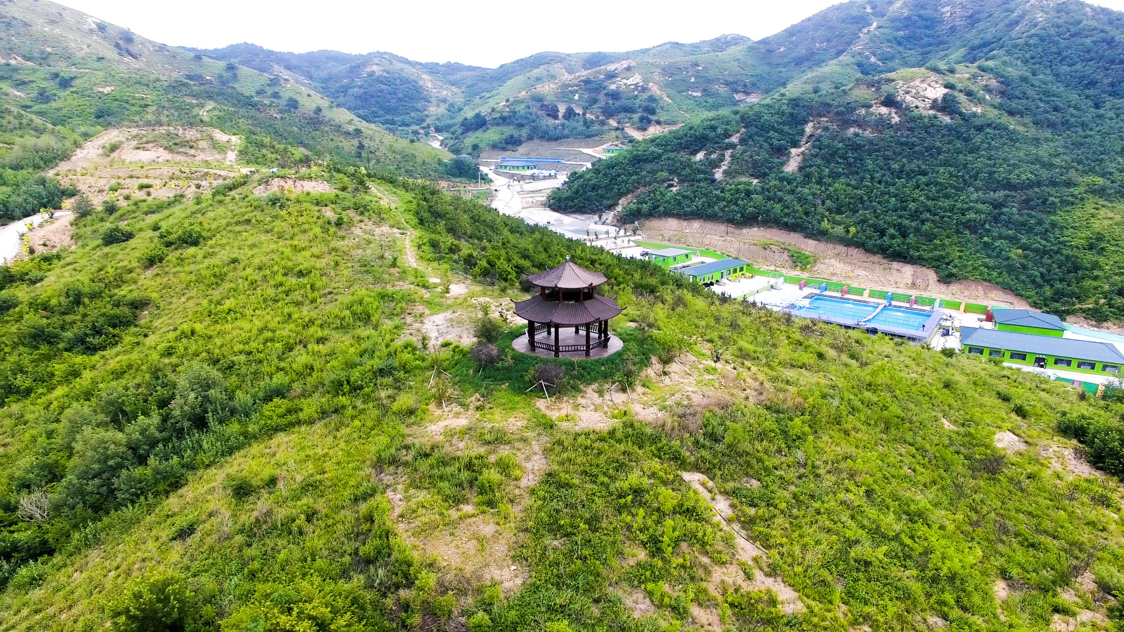 营口芙蓉山风景区 万亩花卉 旅游景点