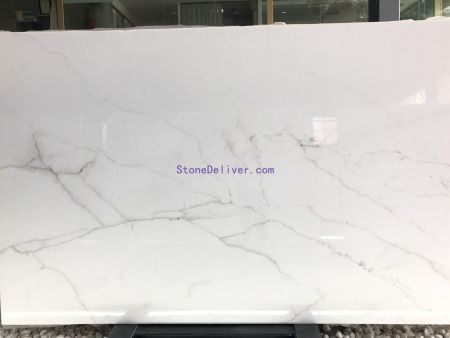 Lincoln White Calacatta Golden marble