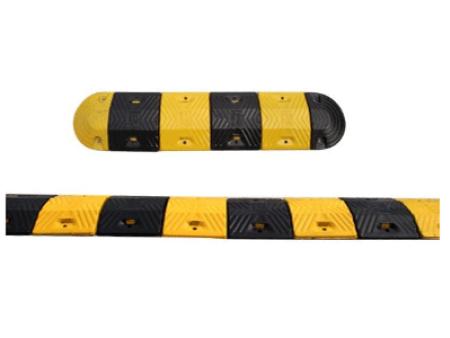 橡胶减速带的减速原理 道路减速带的安装方法