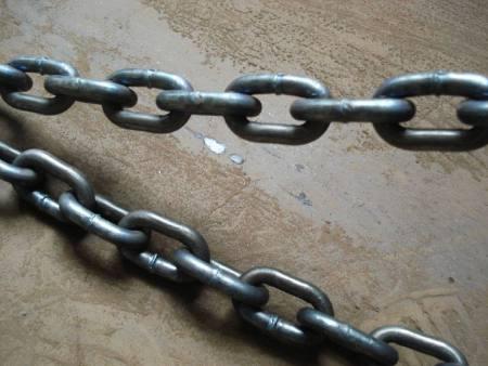 起重鏈條在平時的使用中需要精心的維護防止生銹