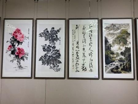 2019和而不同书画汇北京展在北京民族文化宫举行