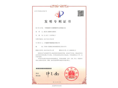 所获专利 (1)