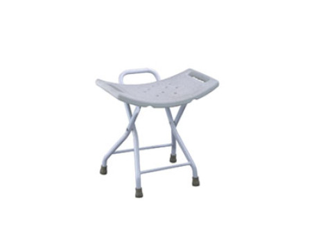 Steel Folding Shower Chair Medical Bath Bench Bathtub Stool Seat FC36002