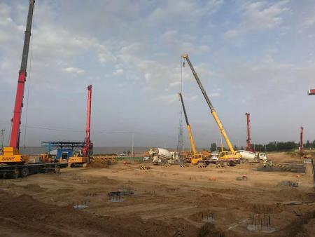 项目名称:甘肃六建 - 兰州高科现代医药物流园项目施工(二标段)