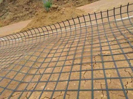 土工格栅在道路施工的应用