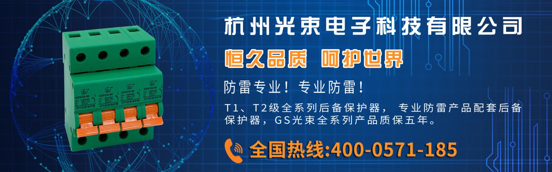 杭州光束厂家直销后备保护器,SCB,浪涌后备保护器,后备保护装置