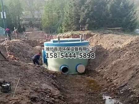 地埋式一体 化泵站