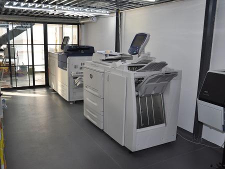 数码印刷设备区