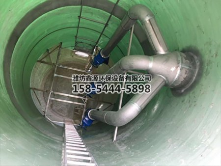 玻璃钢污水泵站