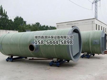 一体 化污水提升泵站