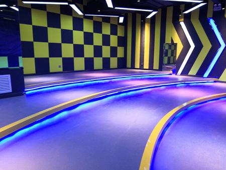 兰州英派斯健身房定制运动健身地板  欣欣嘉园西区东门 2600平米完工2018.10