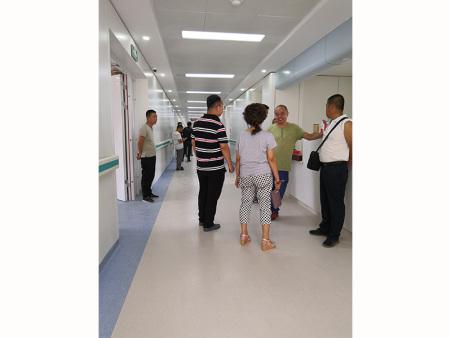 兰州市第二人民医院外科楼manbetx全站app下载+墙塑改造工程  5500平米  完工日期2018.11