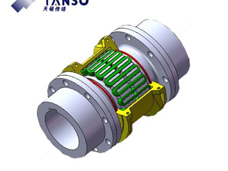 蛇簧联轴器的结构、特征及应用