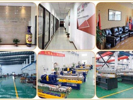 南京双螺杆塑料造粒机的生产车间,双螺杆挤出造粒机厂家-南京科尔克