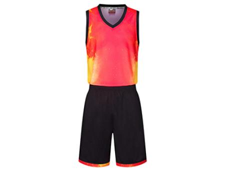 兰州球服定制-8007款篮球服套装
