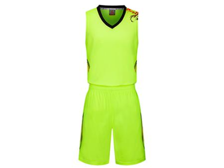 兰州球服定制-新款8015篮球服套装
