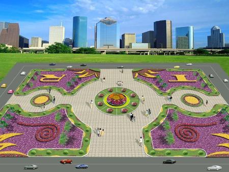 广场景观设计的几种类型及设计原则