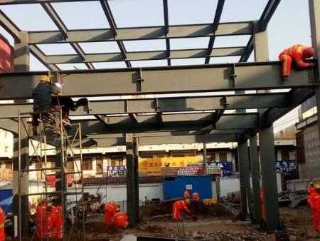 金昌钢结构构件的制作加工厂家-钢材的储存