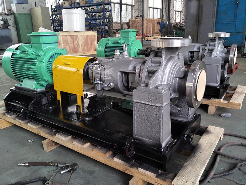 大连化工泵怎样防腐蚀?