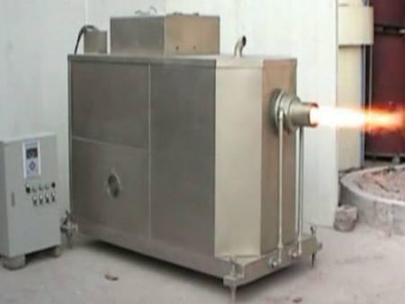 生物颗粒熔铝炉