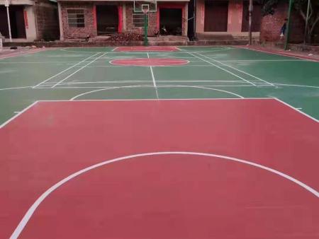 广西硅PU球场,扶绥县汪庄村硅PU球场