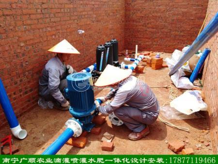 加压泵配套过滤器安装