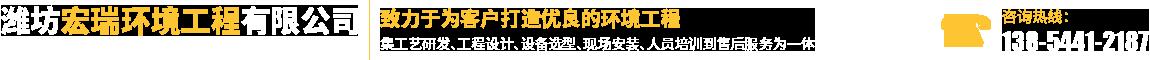 濰坊宏瑞環境工程有限公司