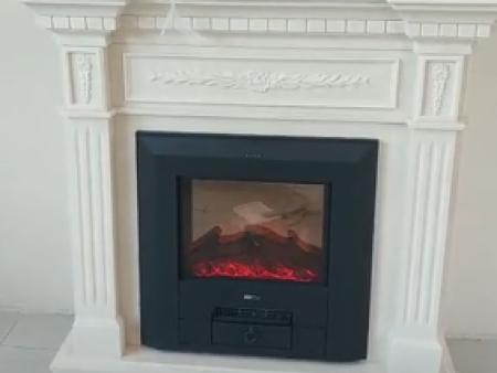 碧桂园凤凰城刘总家定制的石材壁炉