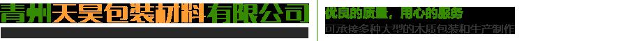 青州天昊包裝材料有限公司