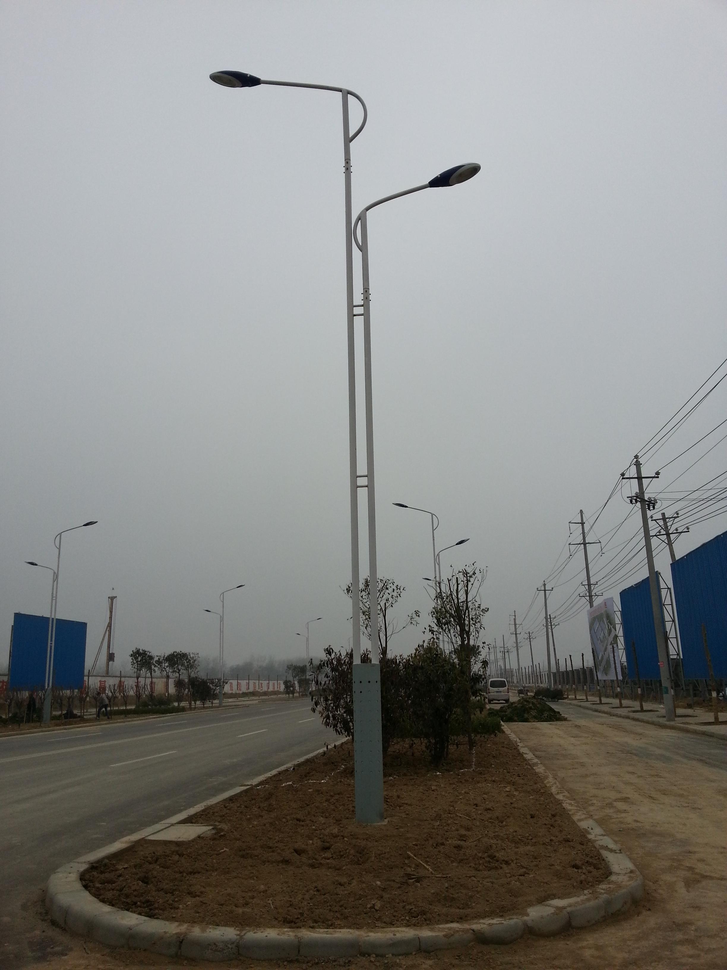 浅析道路沈阳监控杆的安装注意事项