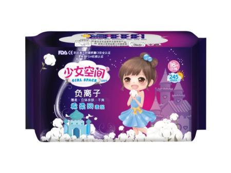 少女空間負離子衛生巾245mm16片日網