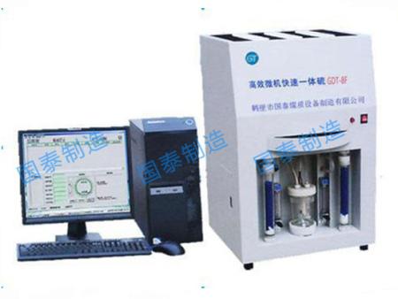 GTD-8F型高效微机快速一体硫