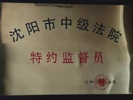 沈阳市中级法院 特约监督员