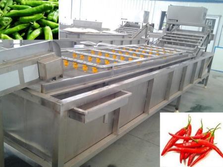 蔬菜清洗機流水線的組件及分類