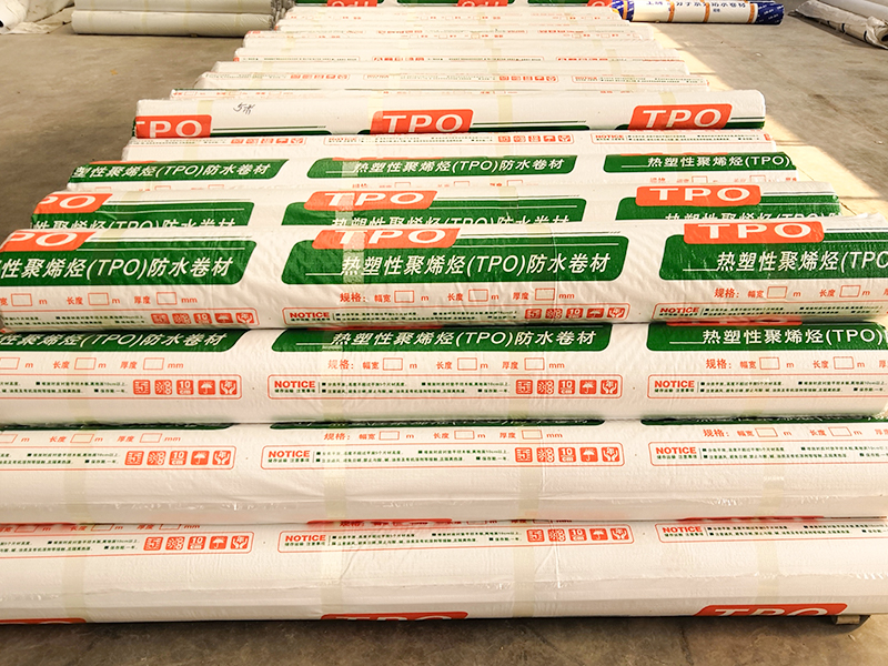 热塑性聚烯烃TPO防水卷材