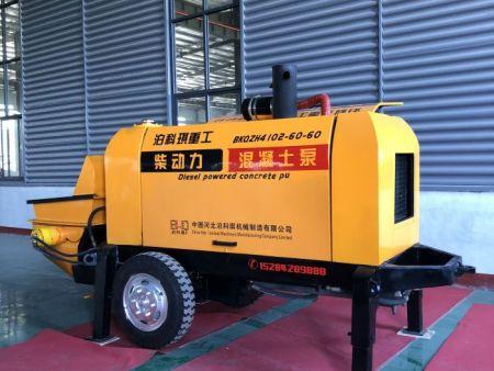 柴油混凝土输送泵