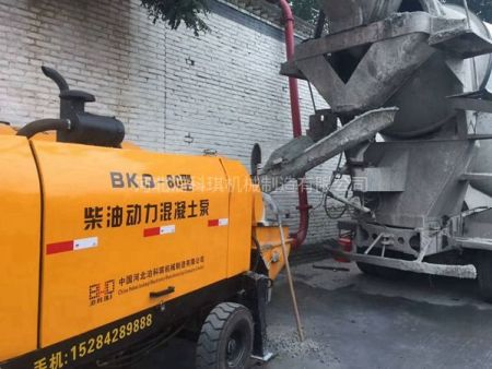 柴油混凝土地泵