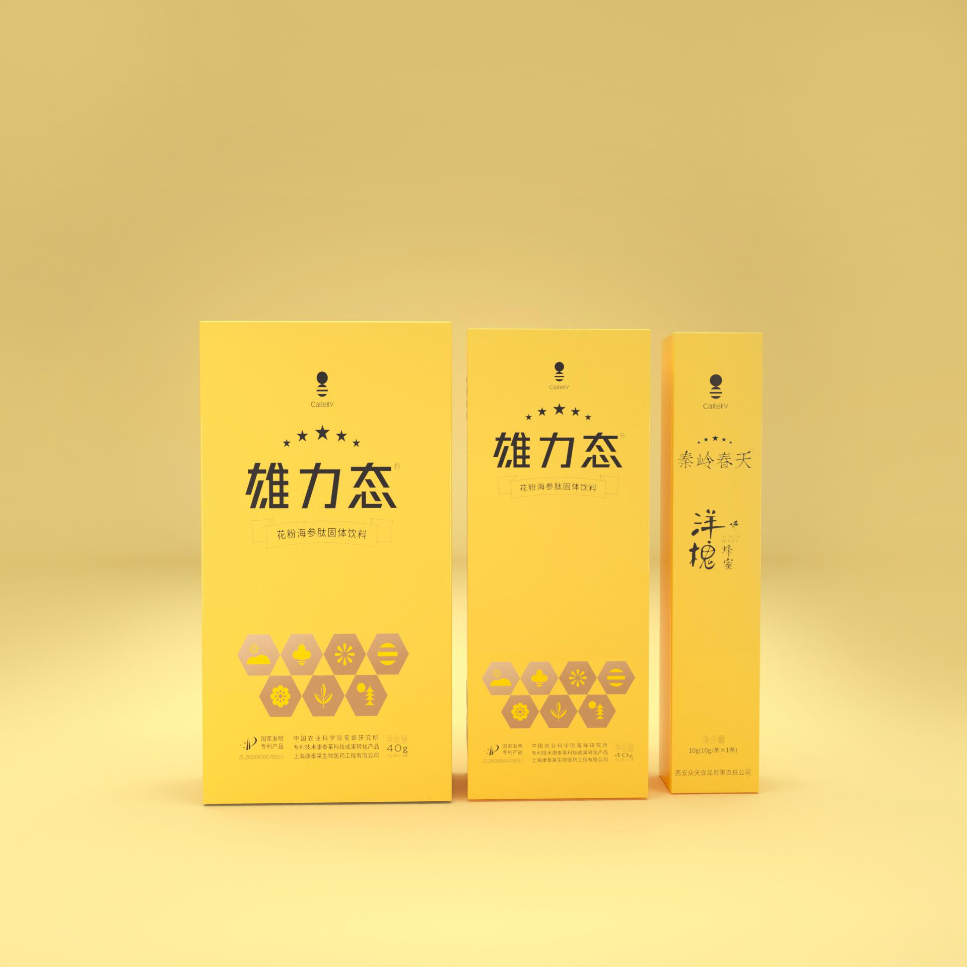 雄力态花粉海参肽固体固体饮料【体验装】