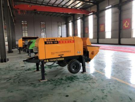 邢台混凝土泵价格 细石混凝土泵液压系统发热故障