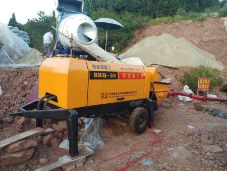 农用混凝土拖泵