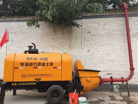 柴动力混凝土输送泵