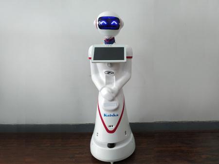 科奥展馆送餐机器人