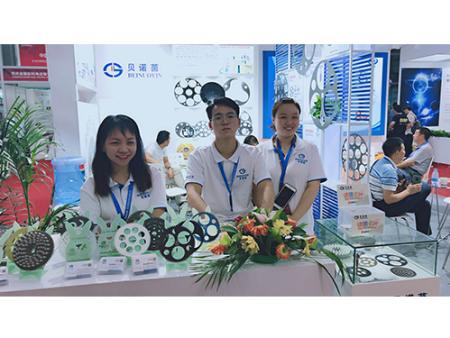 西安贝诺茵参展国际光电博览会