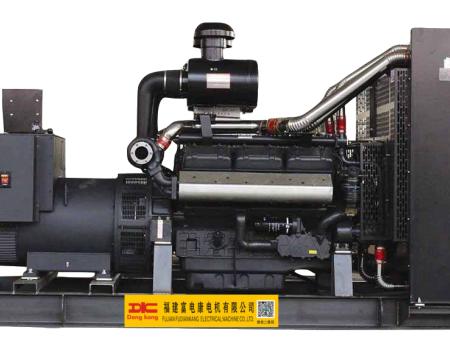 400KW上海申动12V柴油发电机组