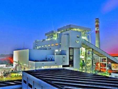 日本首例竹子生物质能源供电设备基础建设完工