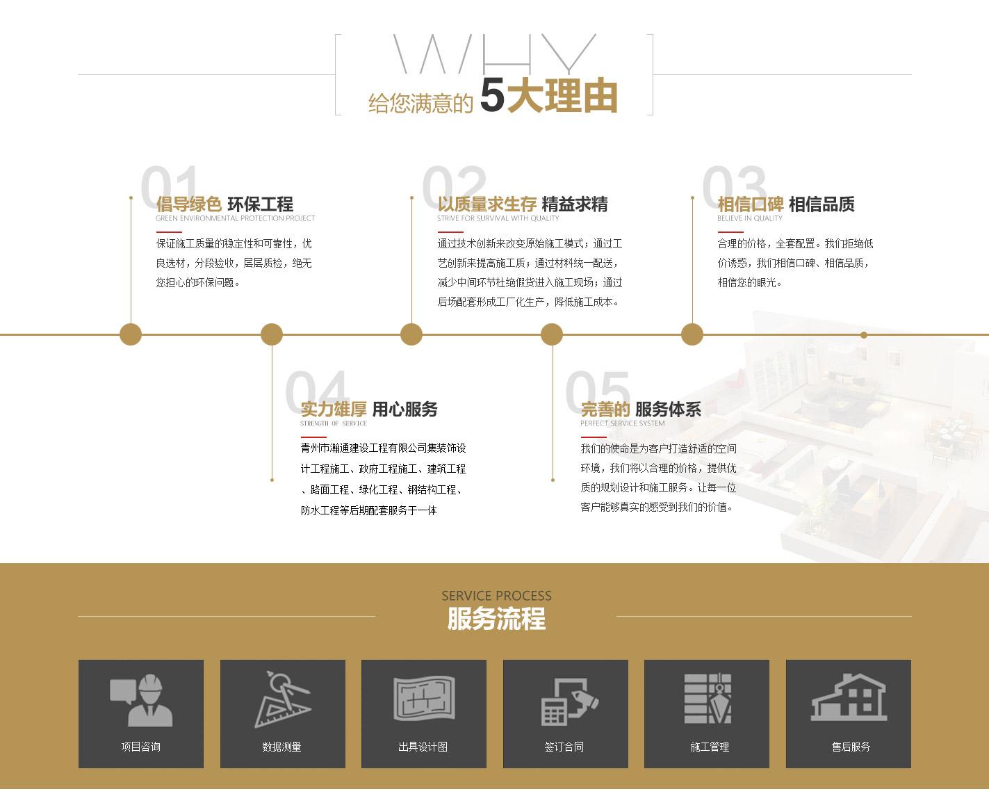 青州市科艺装饰中心服务流程