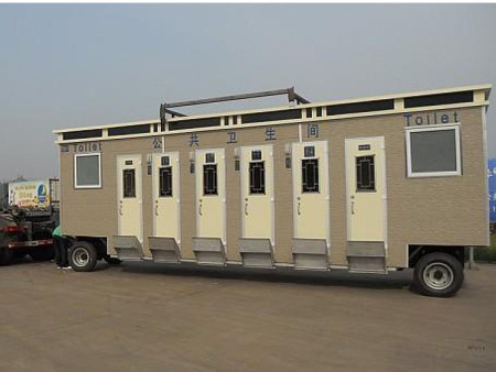 车载移动厕所案例展示