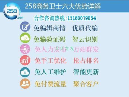 什么是258商务卫士?惠州258商务卫士AI智能全网营销系统你值得拥有